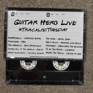 Guitar Hero Live_Tracklist Tuesday July 14